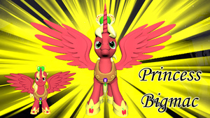 Princess Bigmac (Model DL) by Fauna-Joy