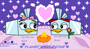 Angry Birds Space Valentine: Ice Birds[Ice+Ivy] by MeganLovesAngryBirds