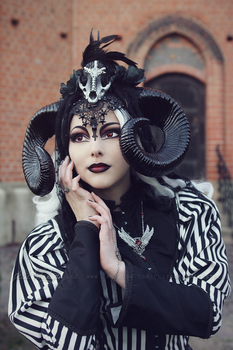 Horned miss 1 by Estelle-Photographie