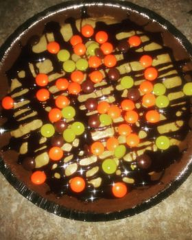reeses cheesecake by xjennakillzx