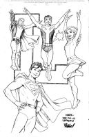 LEGION pencils by Wieringo