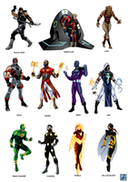 Watchguard character commishes by sean-izaakse