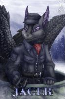 Badge Comish - Jager by TwilightSaint