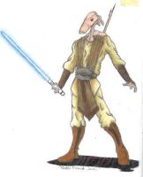 droid jedi colored by Wookiejedi4