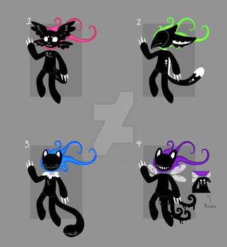 Species Mimicking Cometheads Batch by TheseWeirdFishes