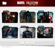 Marvel Collection Folders - Phase 1 by limav