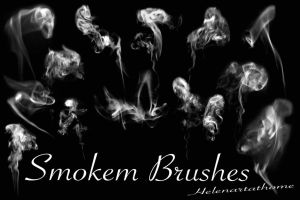 Smokem Brushes by Helenartathome