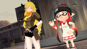 Gmod: Yang and Lucy (Request) by Mirai-Digi