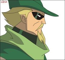 Green Arrow - Corel Draw by GiovaBellofatto