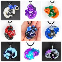 Updated D20 Dragon Pendant Sampler by HowManyDragons