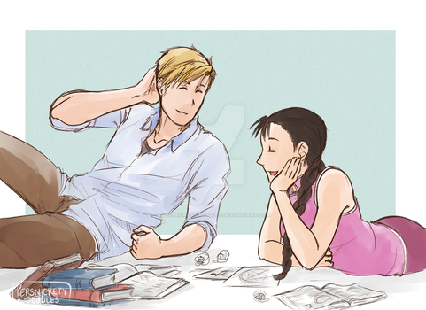 Study Date by Perfectlykawaii93