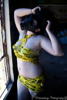 Biohazard Babe by WednesdayFades