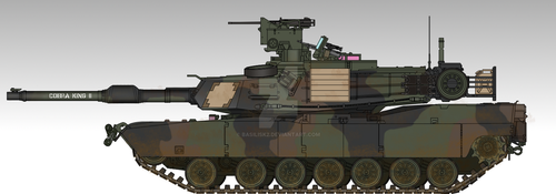 M1A2 SEPv2 'Cobra King II' by Basilisk2