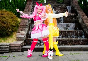 Cure Melody and Cure Muse by mila-tiemy