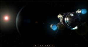 FireFly - Serenity on approach by casivona