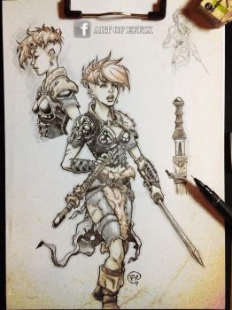 Character studies - Valkyrie