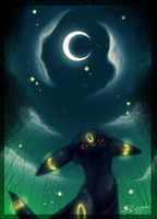 Umbreon by FinsterlichArt