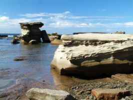 Rock and Water 05 by lobe-stock
