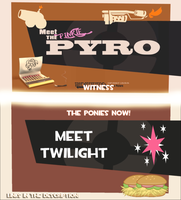 Meet the Pinkie Pyro/Twilight Sniper [Animation] by Thespahthatspies
