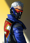 Commissioned work - Soldier 76 by iamtabbychan
