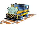 HANDSOME SQUIDWARD ON WHEELS by OkamiTakahashi