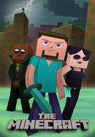 The MineCraft Poster by StevenRayBrown
