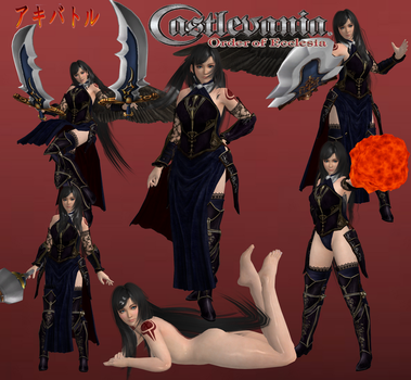 Castlevania Order of Ecclesia Shanoa by SSPD077 by SSPD077