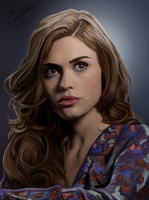 Holland Roden / Lydia Martin by johnneh-draws