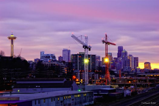 Industral Seattle 2 by UrbanRural-Photo