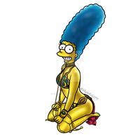 Marge Simpson by sketchygerry