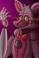 Funtime Foxy from Sister Location by Bluetta97