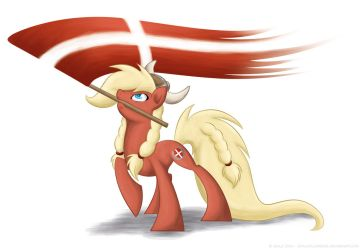 Danish Bronies T-shirt Design by LittleHybridShila