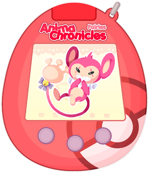 [AC] Fairygochi - Aipom by Someone-in-the-blue