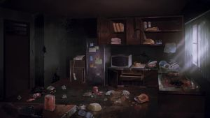 Alan's Apartment - VN BG Commission by ombobon