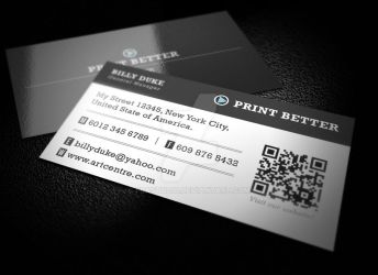 Company Business Card by FBAstudio
