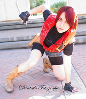 Claire Redfield cosplay RE Clan Master by VickyxRedfield