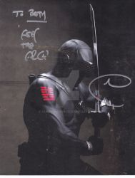 SnakeEyes Autograph by Huntermoon