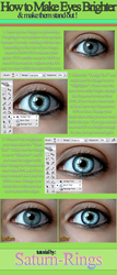 How to Make Eyes Brighter by saturn-rings