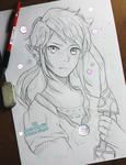 +Link - Breath 0f the Wild+ by larienne