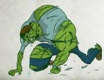 The Incredible Hulk Nightmare 2 by LevelInfinitum