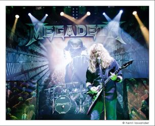 Dave Mustaine One by henrimikael