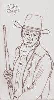 John Wayne by UnicronHound