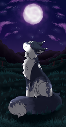 (TDE Monthly Task) Moons beauty~ by Little-blackcat