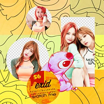 EXID PNG by MilenaHo