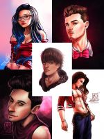 Tumblr Portraits Compilation by MirRoriel