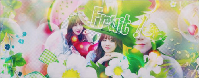 [Cover Scrapbook] Fruit ! by Anaeko-Chan
