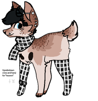 Punk Dog Auction - CLOSED by PearlEvilsAdopts