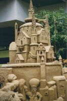 Wizard of Oz Sand Sculpture ll by Maeve09