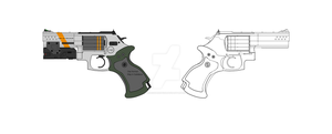Smith and Wesson 686 Tactical Revolver by DeRezzurektion