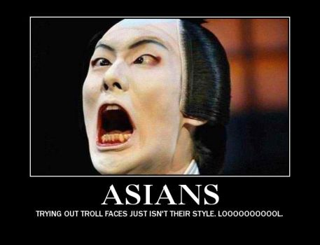 Asian Troll Faces by sk8rNERD